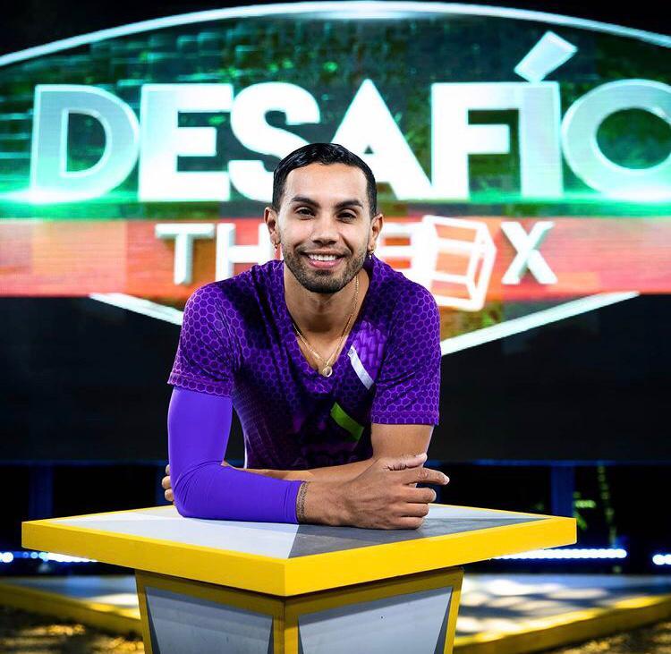 Óscar Luis Muñoz Oviedo se destacó en el Desafío The Box por su fortaleza en las competencias y por tener un corazón noble.   FOTO: CORTESÍA.