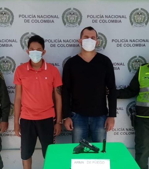 Ambos detenidos tienen anotaciones judiciales.