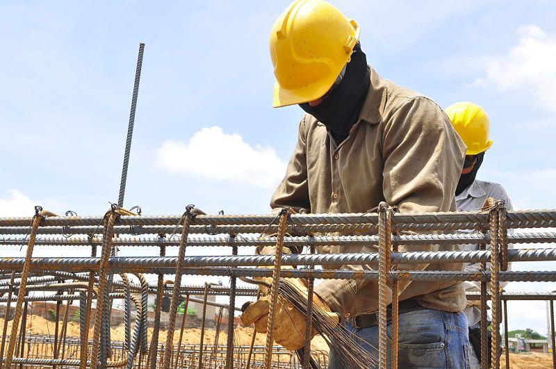 Así avanzan las obras para la construcción de la Villa Bolivariana en Valledupar.  FOTO: CORTESÍA.