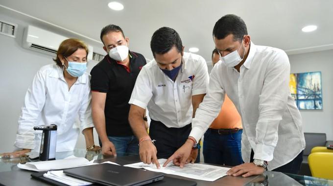 El futuro de la construcción de la nueva sede administrativa está en manos del Ministerio del Interior.  Foto: cortesía.