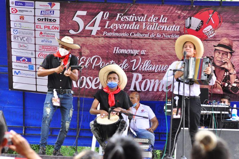 La final del Concurso de Acordeoneros Categoría Juvenil será el próximo viernes.  Foto: Joaquín Ramírez.