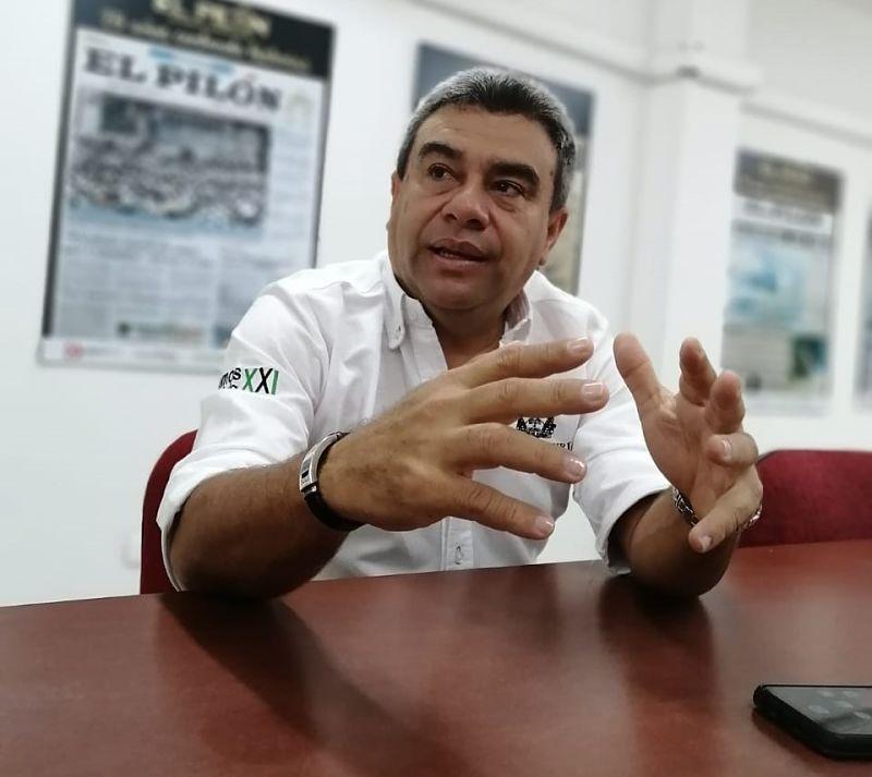 Cesar Acuña, delegado de la Registraduría Nacional en el Cesar.