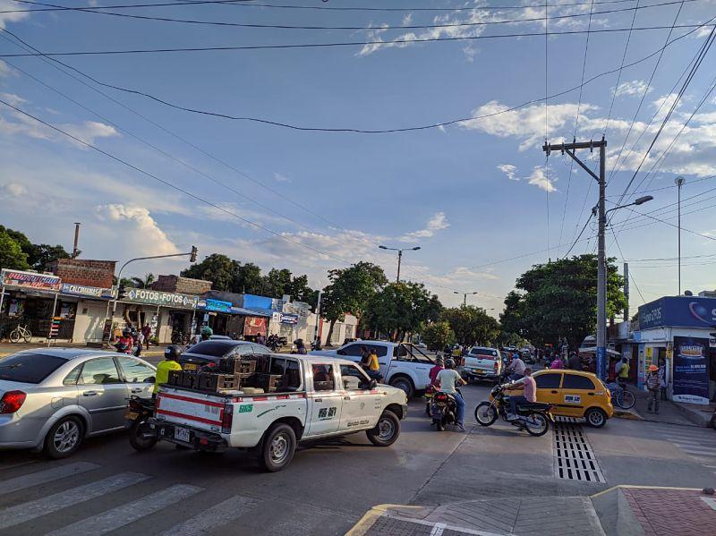 La situación ocasionó un accidente el pasado 6 de octubre.  FOTO: JOAQUÍN RAMÍREZ.