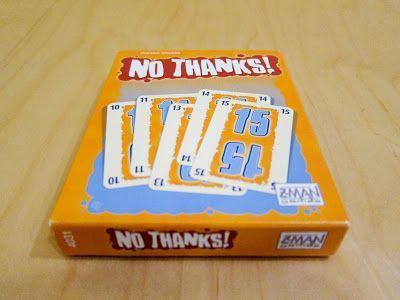 No gracias - No thanks - juego de cartas