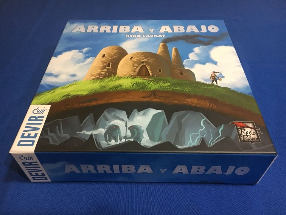 Arriba y Abajo_Devir Iberia_Portada