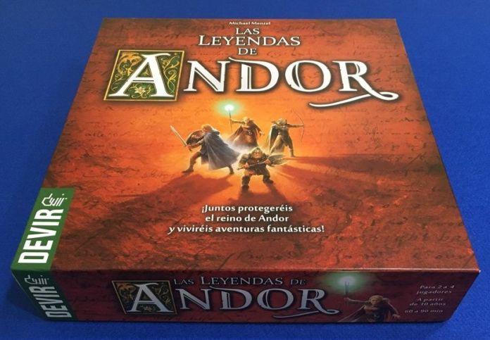 Las leyendas de Andor - Devir Iberia