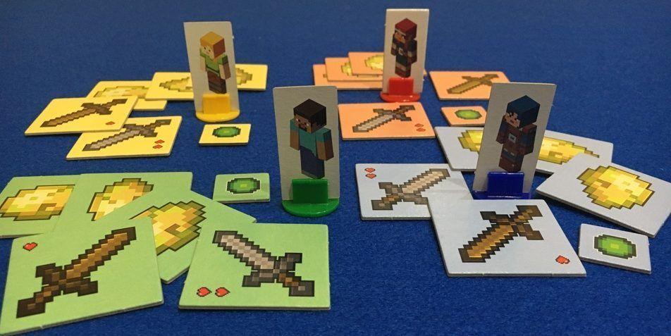 Minecraft juego de mesa