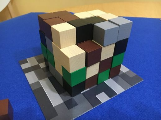 Minecraft Cubo de recursos