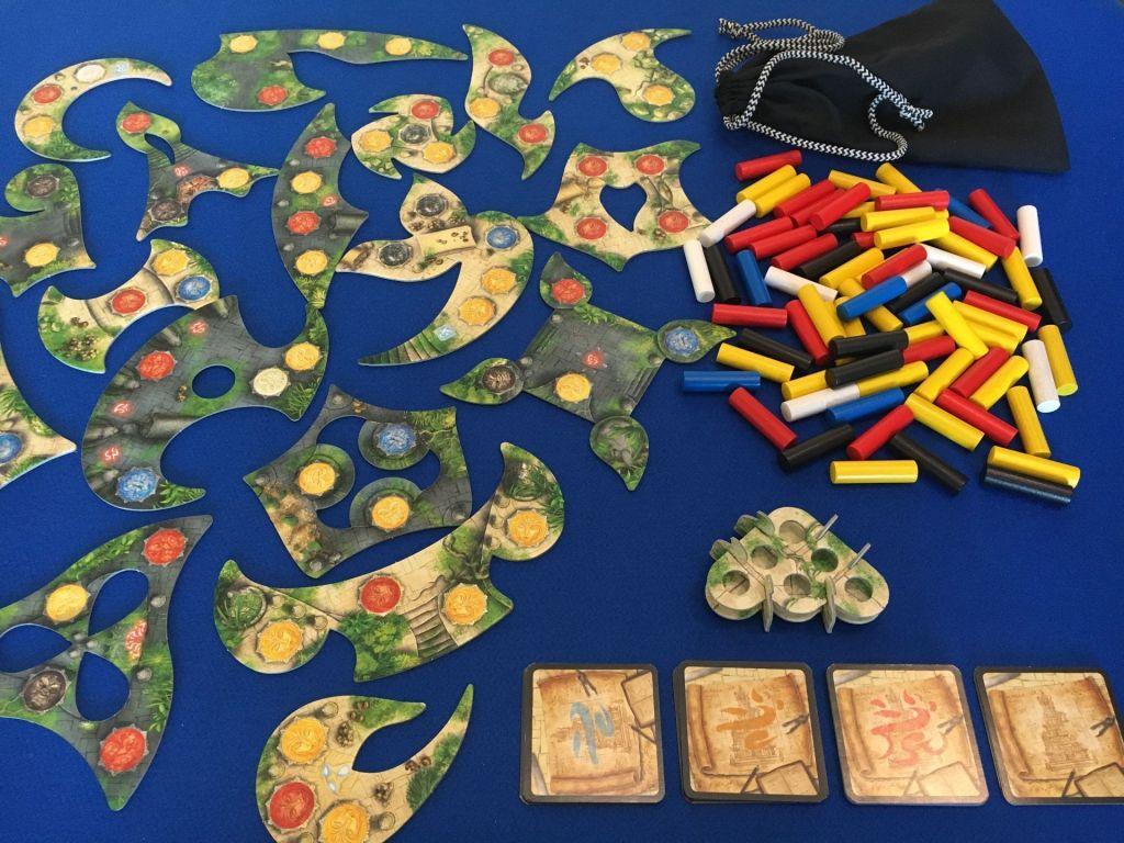Componentes juego de mesa menara
