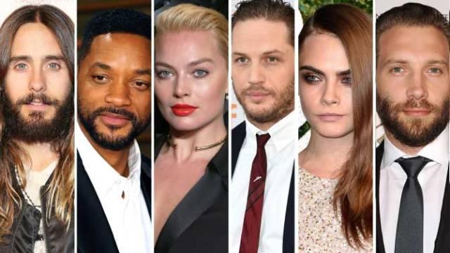 Los actores que interpretarán al Escuadrón Suicida. Foto: Variety.