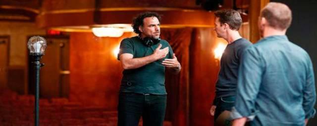 Alejandro Gonzalez Iñarritu dirige Birdman.