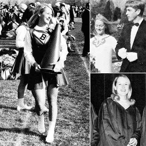 Meryl-Streep-High-School