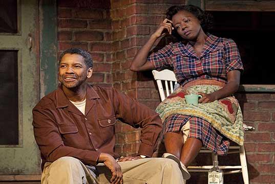 Fences con Viola Davis y Denzel Washington.