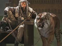 tigre de The Walking Dead