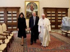 visita de Donald Trump al papa Francisco