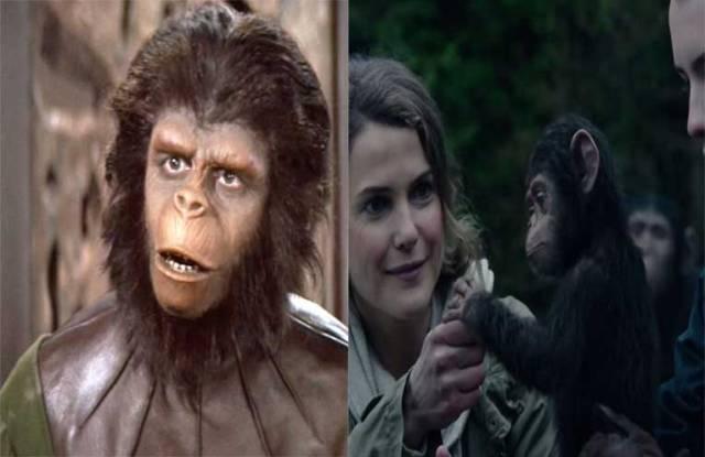las referencias de el planeta de los simios