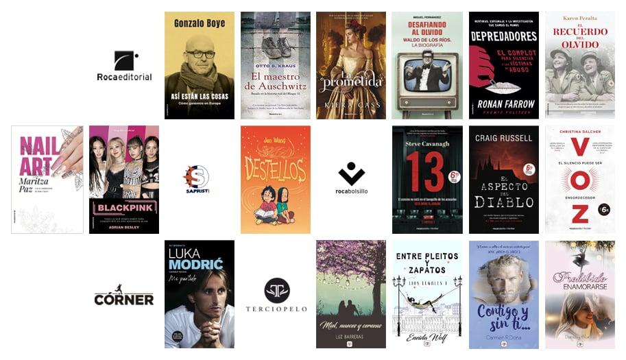 Libros de junio en @rocaeditorial