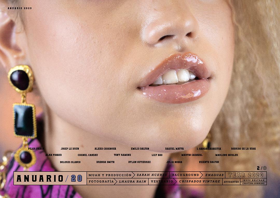 maquillaje de labios - glossy