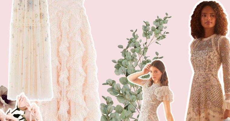 Vestidos de novia low cost (IV): Needle and Thread
