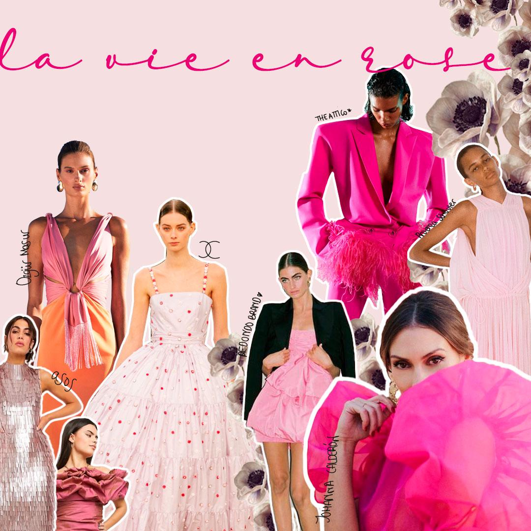 Tendencias 2021: invitadas de rosa