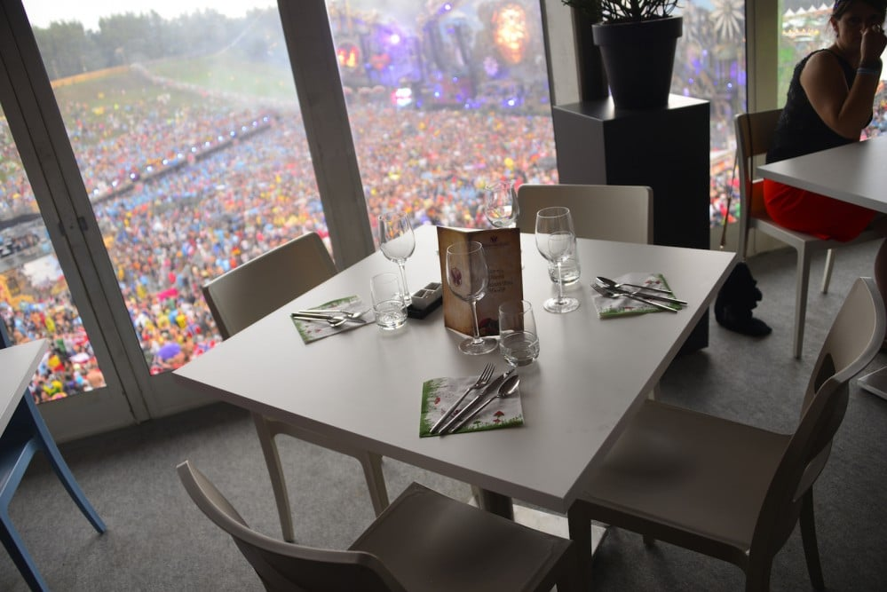 restaurant michelin tomorrowland
