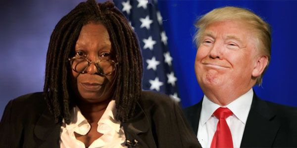 Whoopi Goldberg odia a trump