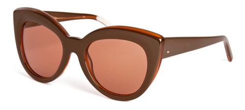 Gafas de sol de acetato en punta, Infinit $2.200