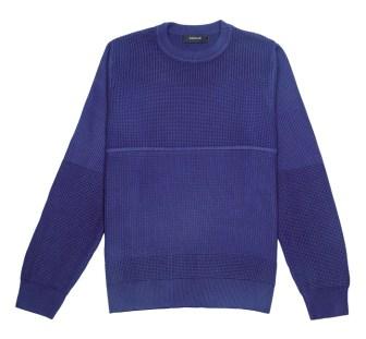 Sweater liviano de cuello redondo, Rochas. $2.990.