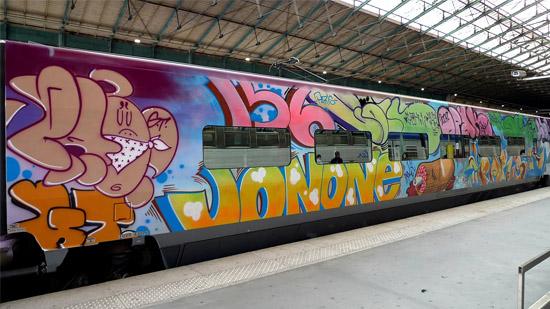 Vagón diseño de Jonone