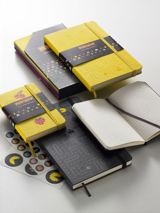 cuadernos pac-man