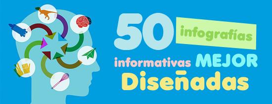 50 infografías mejor diseñadas