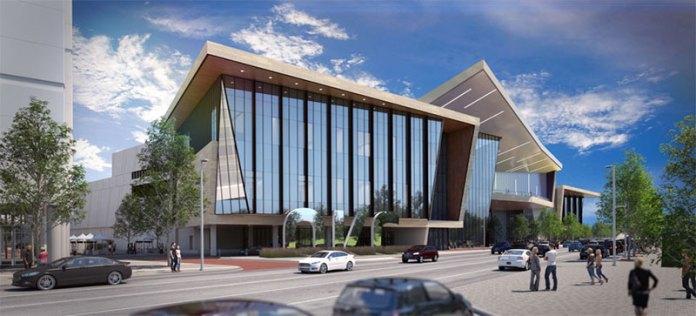 nuevo logo de la ciudad de oklahoma para su Centro de Convenciones