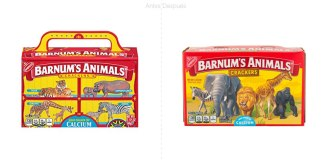 Galletas de animalitos Barnum's Animals