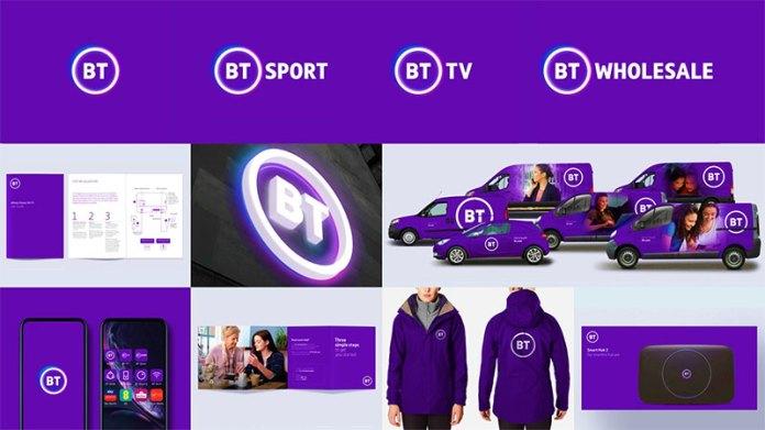La empresa británica bt group presenta un logotipo muy aburrido para el público
