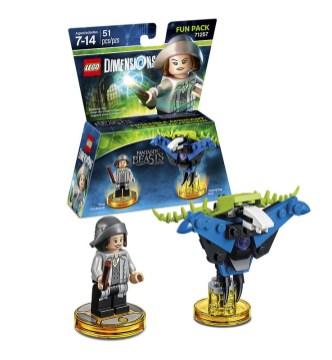LEGO Dimensions 71257 Fantastic Beasts Tina Fun Pack