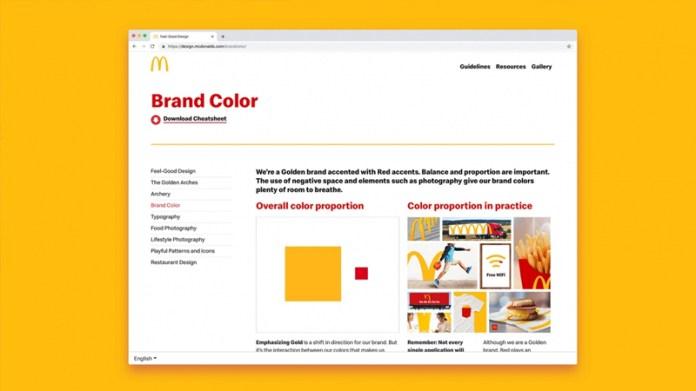Nuevo sistema visual para McDonald's por turner duckworth