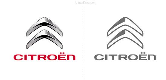 La famosa marca de autos francesa Citroën presenta un logo simplificado    El Poder de las Ideas