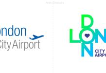 El aeropuerto de Londres, London city airport presenta su nueva identidad