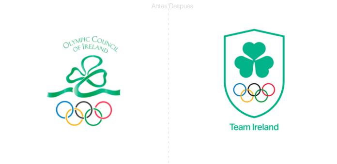 Nuevo nombre para la Federación olímpica de Irlanda OFI.