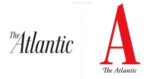 la revista the atlantic nuevo logotipo