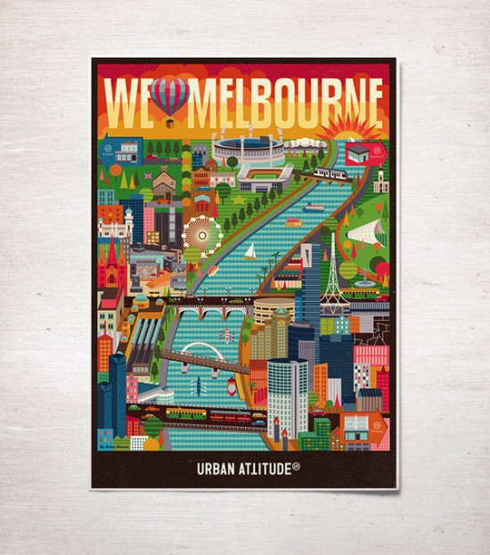 We Love Melbourne poster