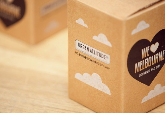 We Love Melbourne packaging