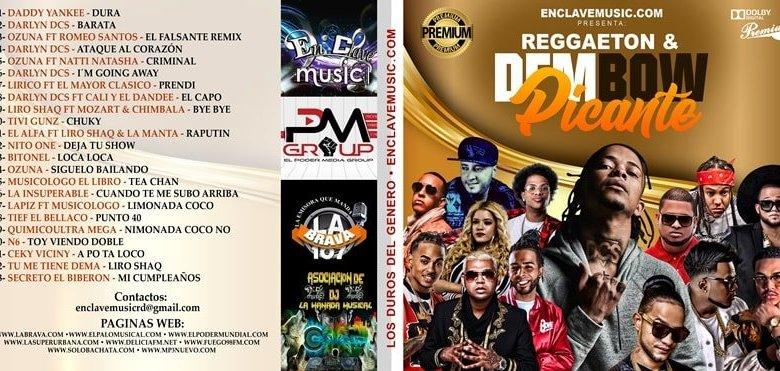 CD: Reggaeton y Dembow Picante (2018)