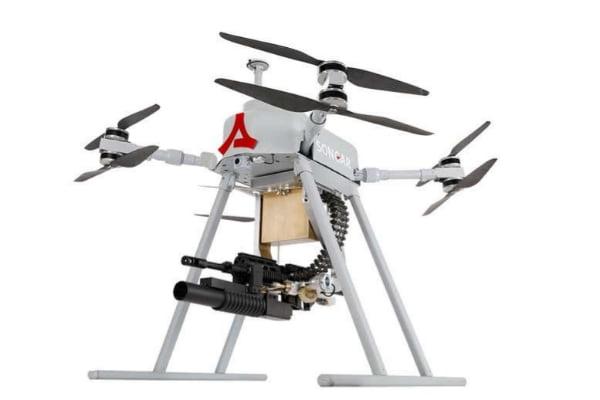 En Turquía se estrenará un dron militar con ametralladora incorporada