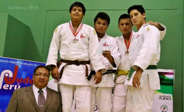 Masculino -90 Kg. 1. José Arroyo (Pre selección) 2. Leonardo Gadea (Academia) 3. Aldairton Rojas (Academia) 3. Paulo Cateriano (Regatas)
