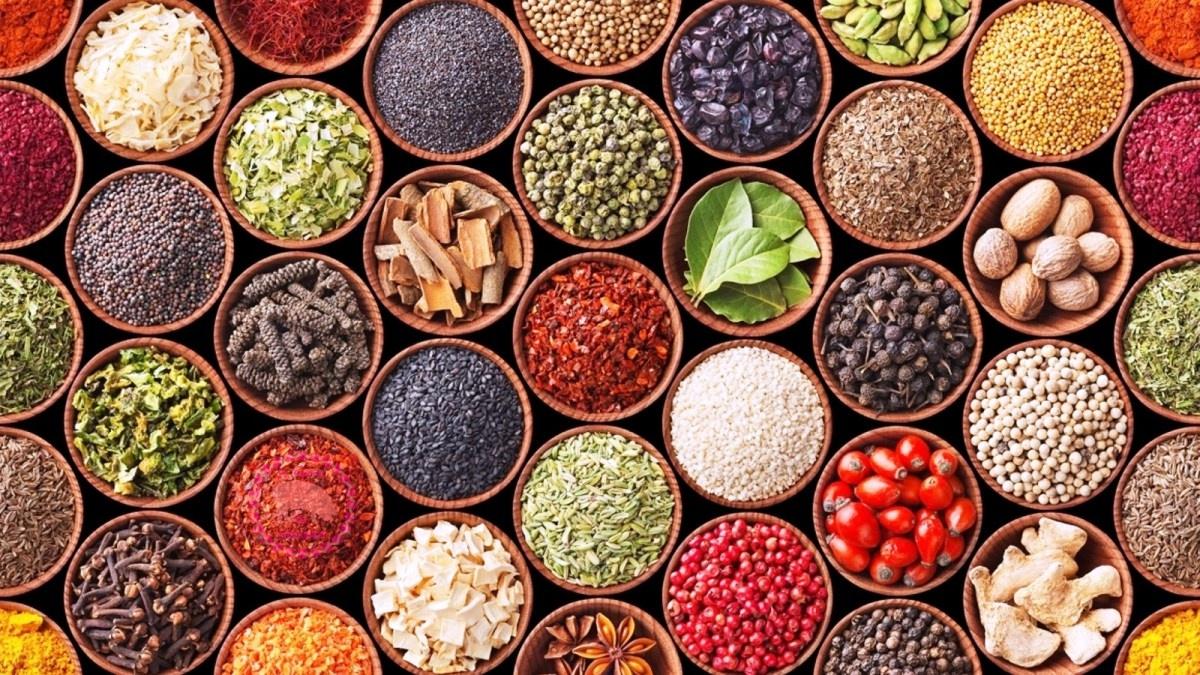 Especias, condimentos y aditivos