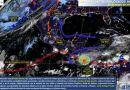 Frente frío No.60 con intenso calor y tormentas