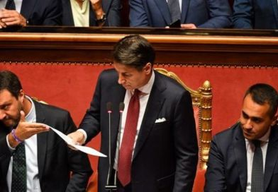 Giuseppe Conte renuncia como primer ministro de Italia