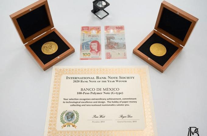 nuevo billete -premio-cien pesos