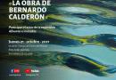 Invita CEART a charla con Bernardo Calderón, artista plástico